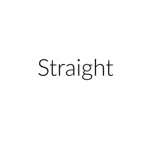 Setting the record straight: I am straight.